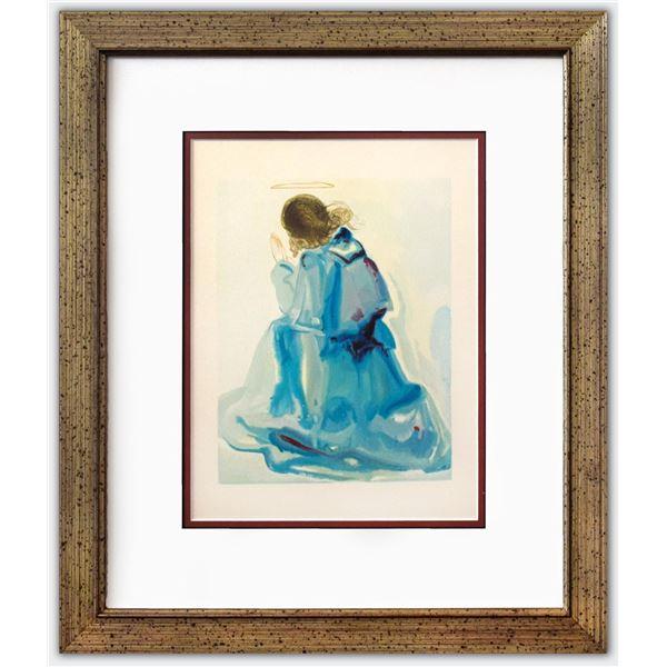 "Salvador Dali- Original Color Woodcut on B.F.K. Rives Paper ""Paradise 2"""