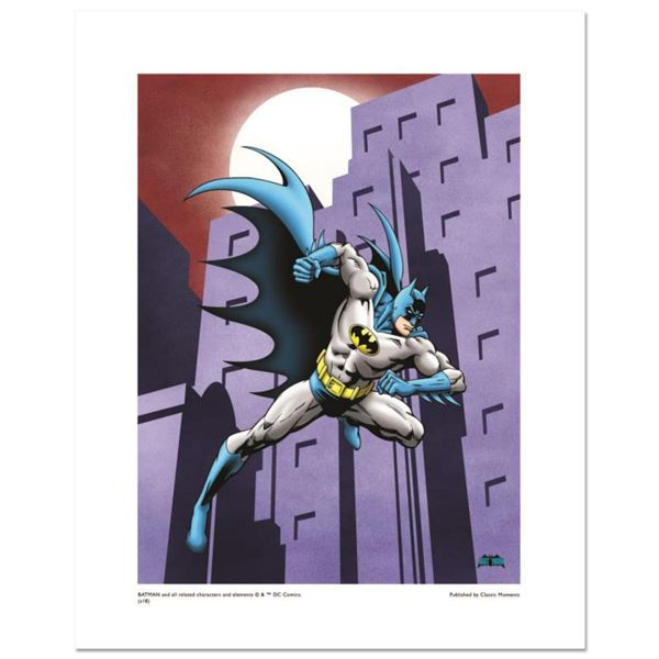 """""""Batman Running"""" Numbered Limited Edition Giclee from DC Comics with Certificate of Authenticity."""