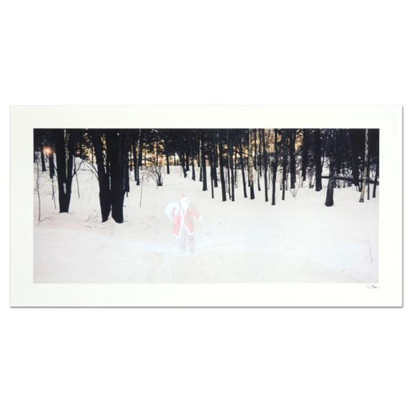 """Robert Sheer, """"Santa Spirit"""" Limited Edition Single Exposure Photograph, Numbered and Hand Signed wi"""