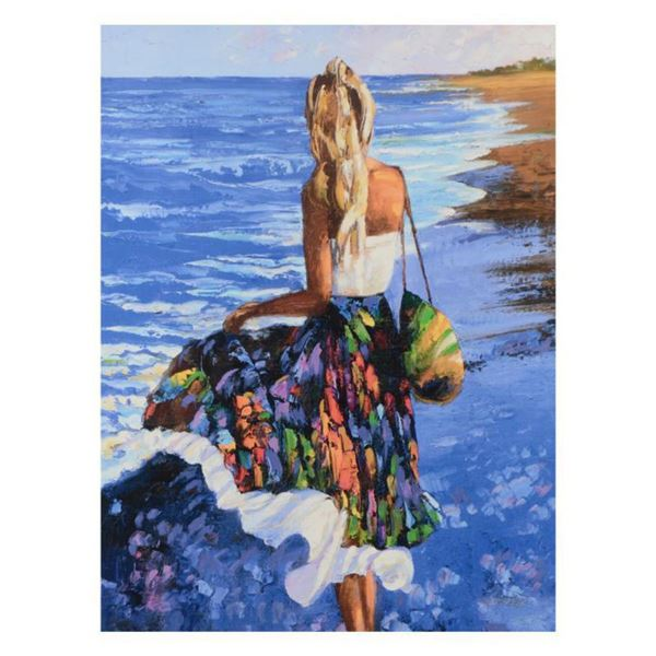 """Howard Behrens (1933-2014), """"My Beloved, By The Sea"""" Limited Edition on Canvas, Numbered and Signed"""