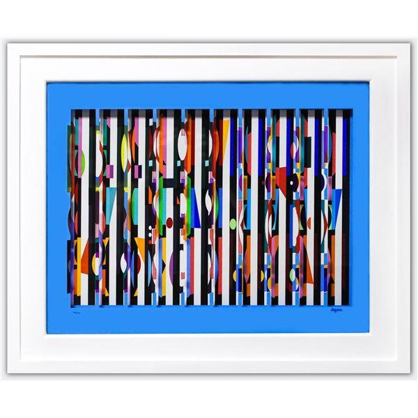"""Yaacov Agam- Multigraph """"Untitled"""""""