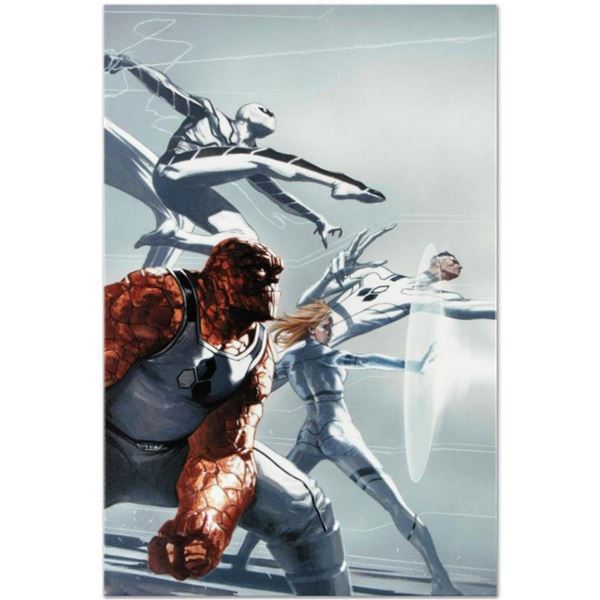 """Marvel Comics """"Fantastic Four #600"""" Numbered Limited Edition Giclee on Canvas by Joe Quesada with CO"""