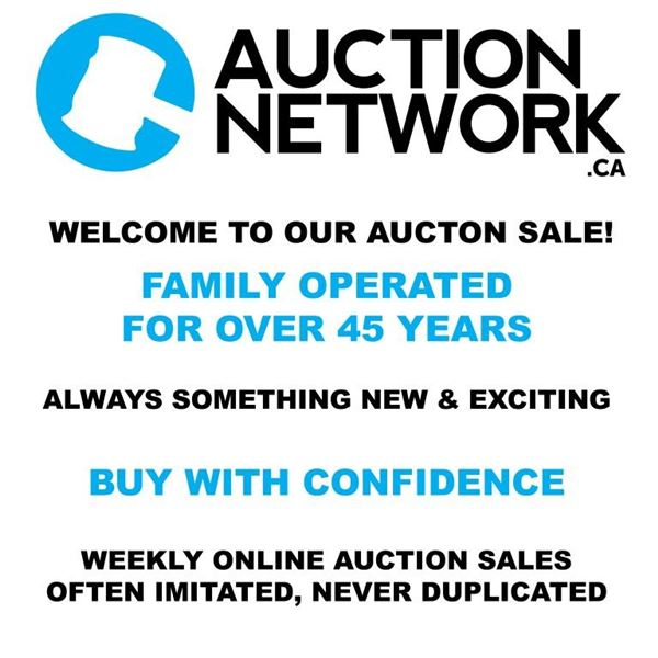 WECLOME TO AUCTION NETWORK.