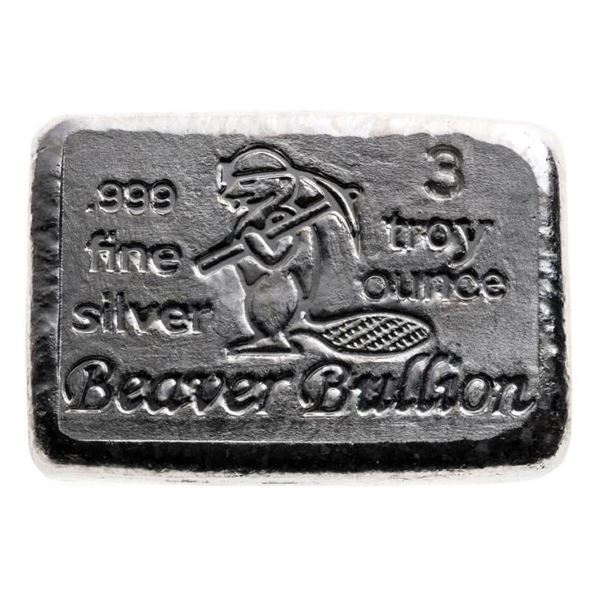 Collector Bullion - Hand Poured .999 Fine Pure Sil