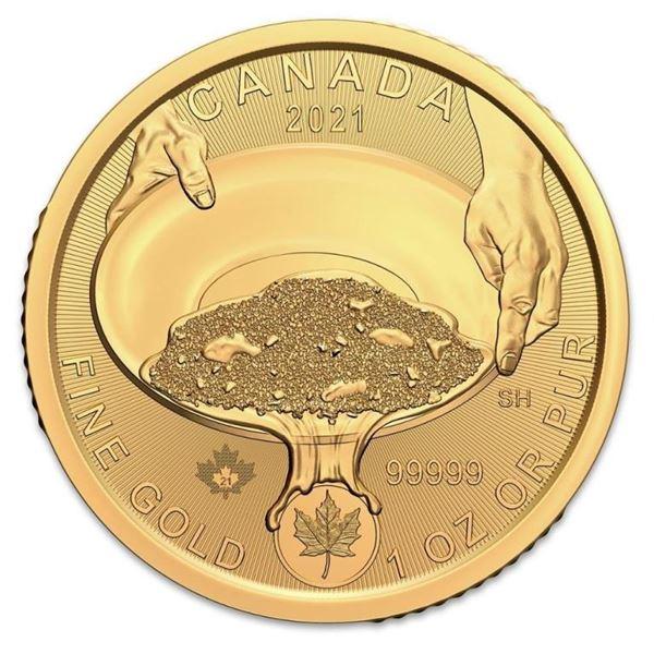 INVESTMENT GOLD BULLION - 2021 Klondike Gold Rush