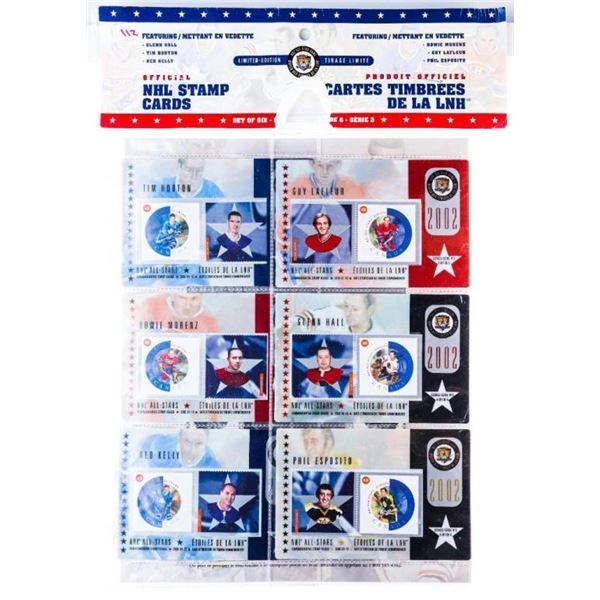 Canada Post Issue ; NHL Stamp cards Set of 6 - Spe