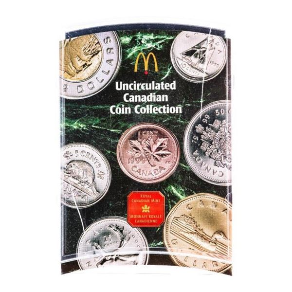 RCM 1999 UNC Coin Set, MacDonald's Logo Case