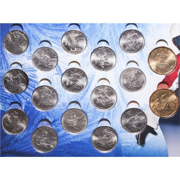 Vancouver 2010 - Official Coins of The Olympics 17