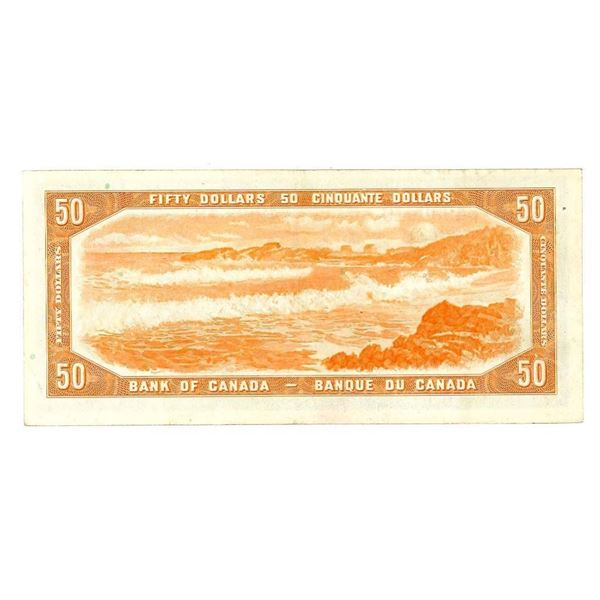 """Bank of Canada 1954 $50 """"BH"""" (510)"""