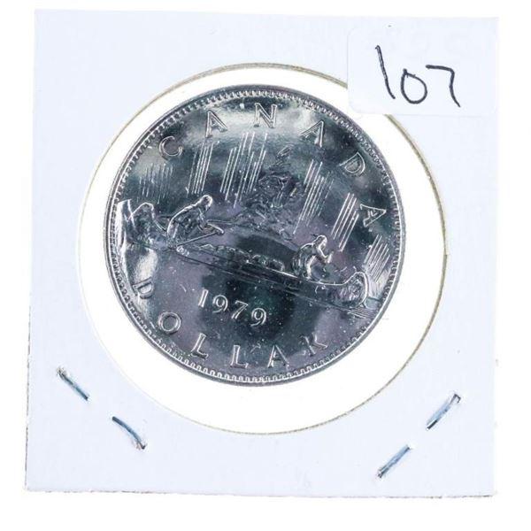 1979 Canada Nickel Dollar Sp67