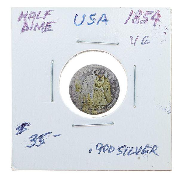 1846 USA 1Cent Braided Hair Scarce VF 45 (26)