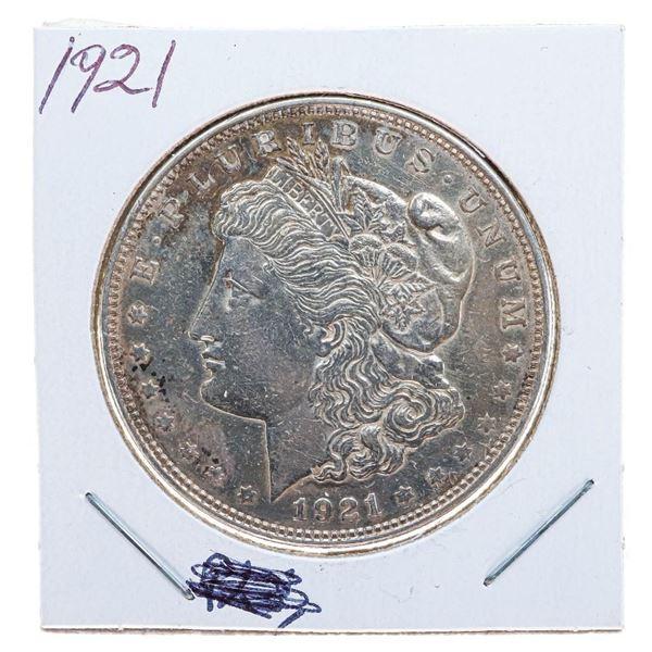 1921 USA Silver Morgan Dollar