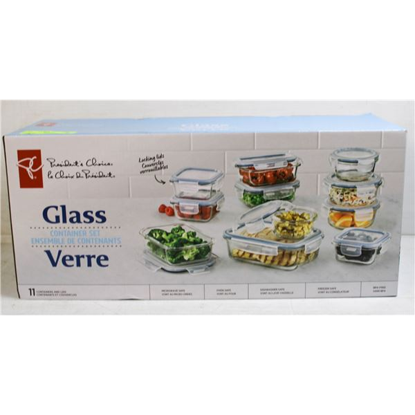 PC GLASS CONTAINER SET