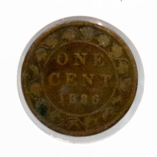 1886 VICTORIAN CANADA LARGE CENT