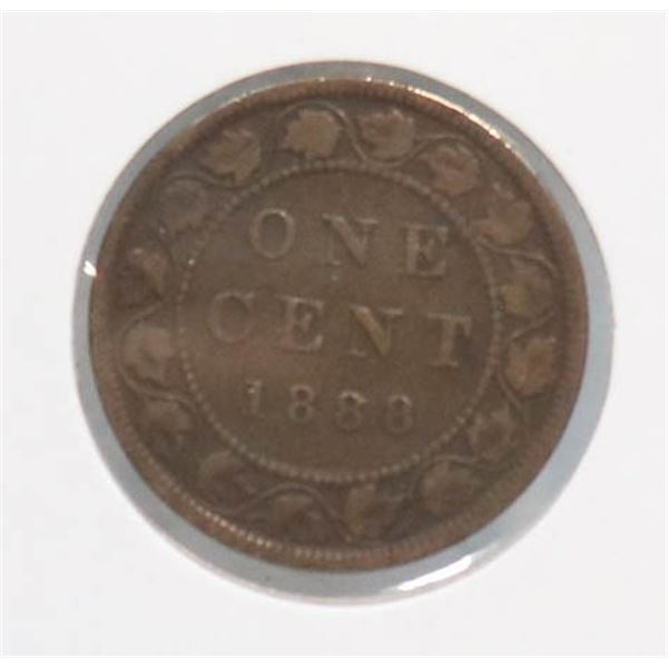 1888 VICTORIAN CANADA LARGE CENT