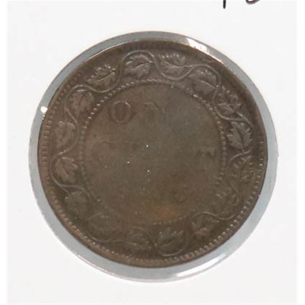 1893 VICTORIAN CANADA LARGE CENT