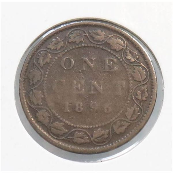 1895 VICTORIAN CANADA LARGE CENT