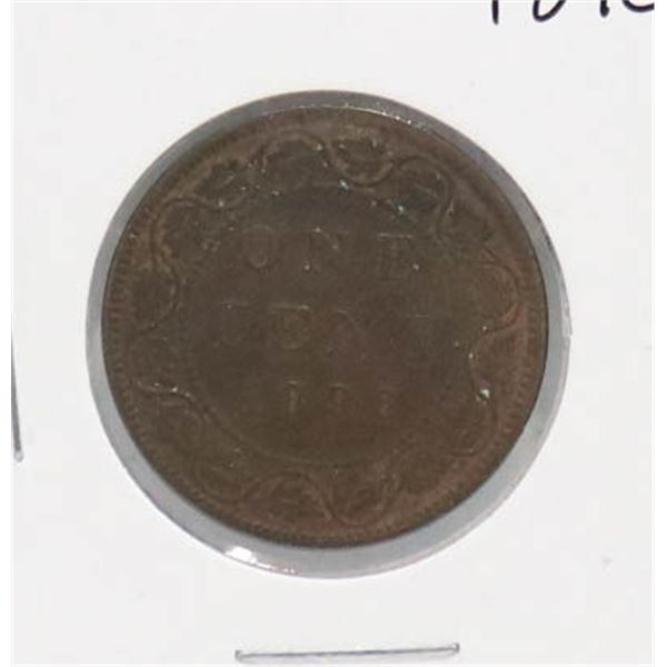 1896 NEAR 6 VICTORIAN CANADA LARGE CENT