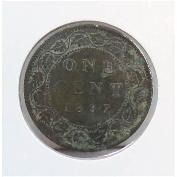 1897 VICTORIAN CANADA LARGE CENT