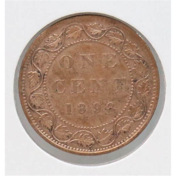1898 VICTORIAN CANADA LARGE CENT