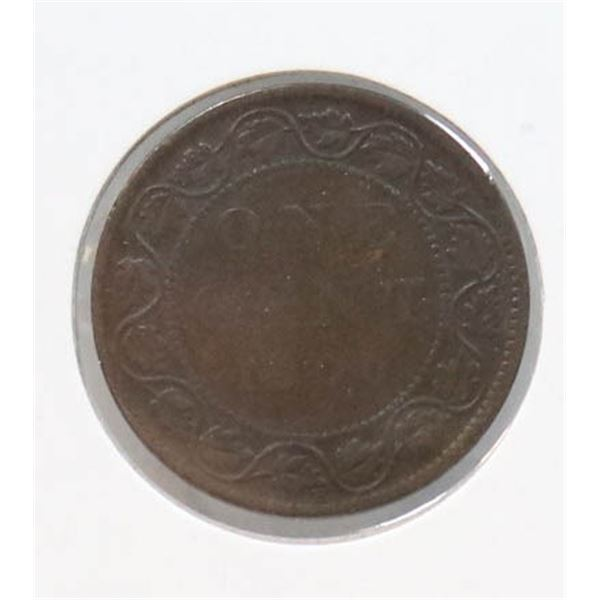 1900-H VICTORIAN CANADA LARGE CENT