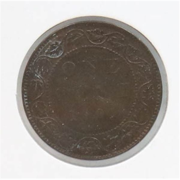 1901 VICTORIAN CANADA LARGE CENT