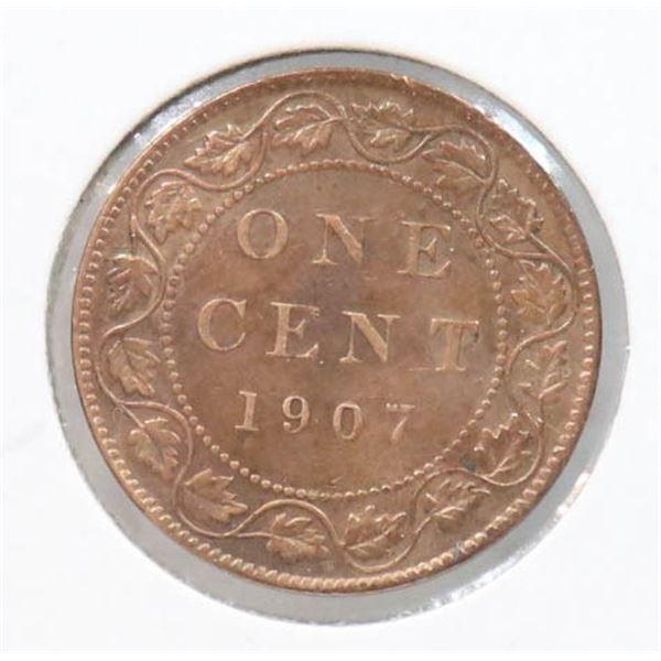 1907 EDWARDIAN CANADA LARGE CENT