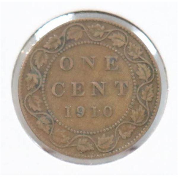 1910 EDWARDIAN CANADA LARGE CENT