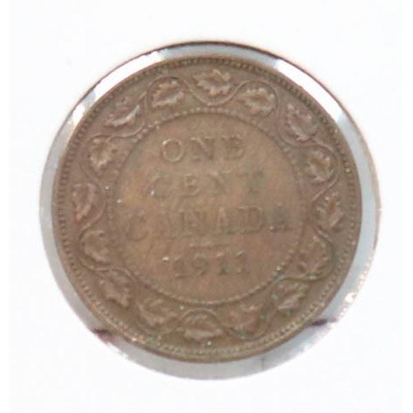 "1911 ""GODLESS OBVERSE"" LARGE CENT"