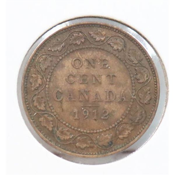 1912 KING GEORGE V CANADA LARGE CENT