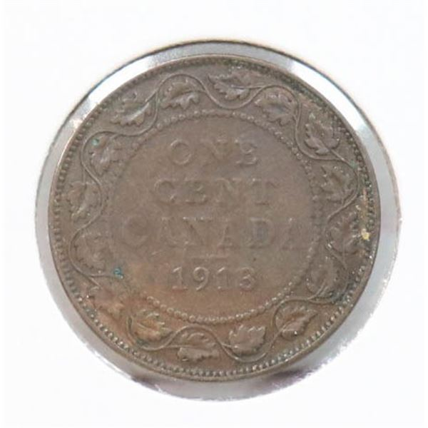 1913 KING GEORGE V CANADA LARGE CENT