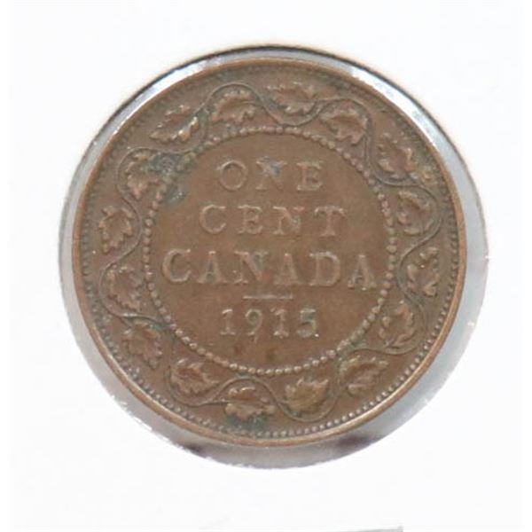 1915 KING GEORGE V CANADA LARGE CENT