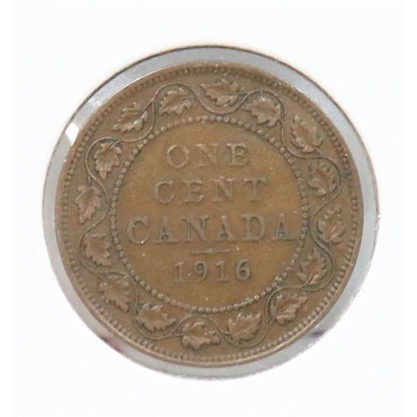 1916 KING GEORGE V CANADA LARGE CENT