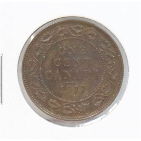 1917 KING GEORGE V CANADA LARGE CENT