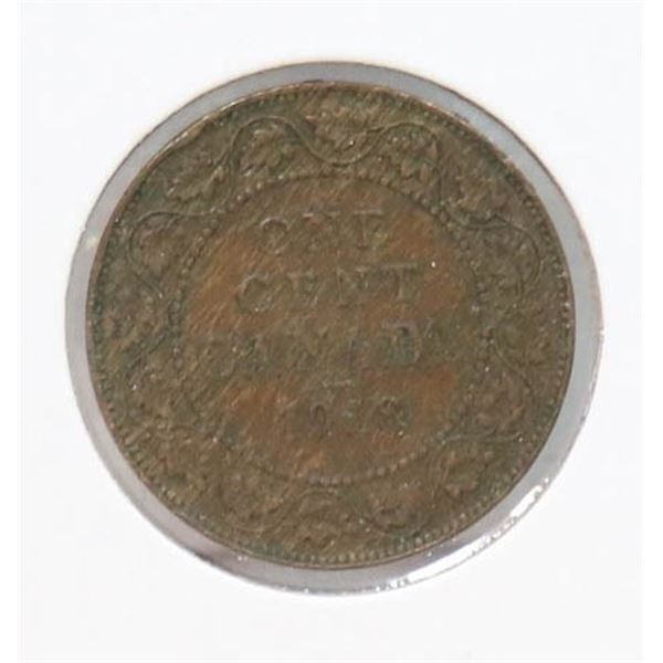 1918 KING GEORGE V CANADA LARGE CENT