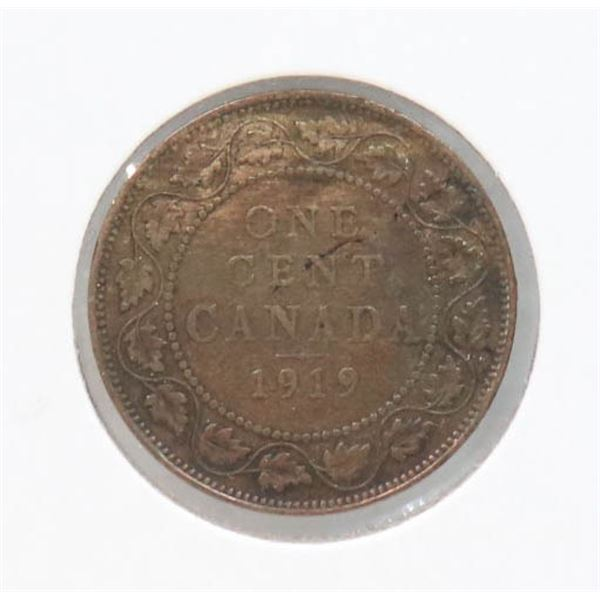 1919 KING GEORGE V CANADA LARGE CENT