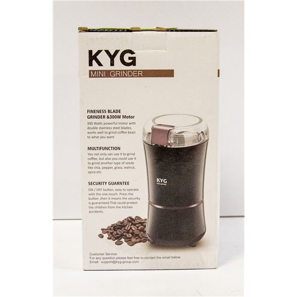KYG MINI GRINDER FINENESS BLADE AND 300W MOTOR