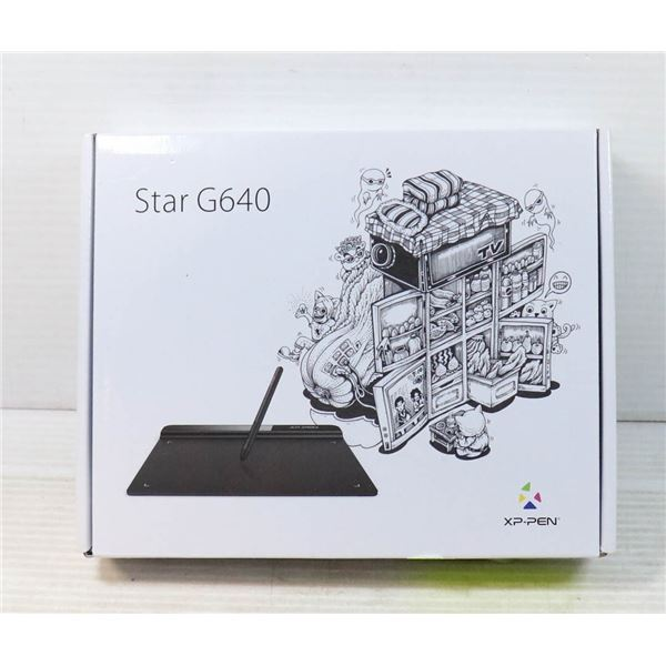 STAR G640 XP-PEN DRAWING TABLET