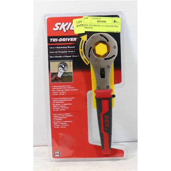 SKIL TRI-DRIVER 14-1 RATCHETING WRENCH