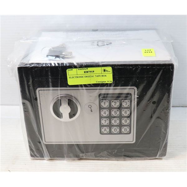 ELECTRONIC DIGITAL SAFE BOX