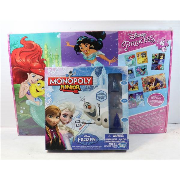 SEALED ITEMS MONOPOLY FROZEN
