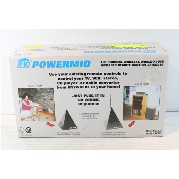 NEW X10 POWERHOUSE POWERMID