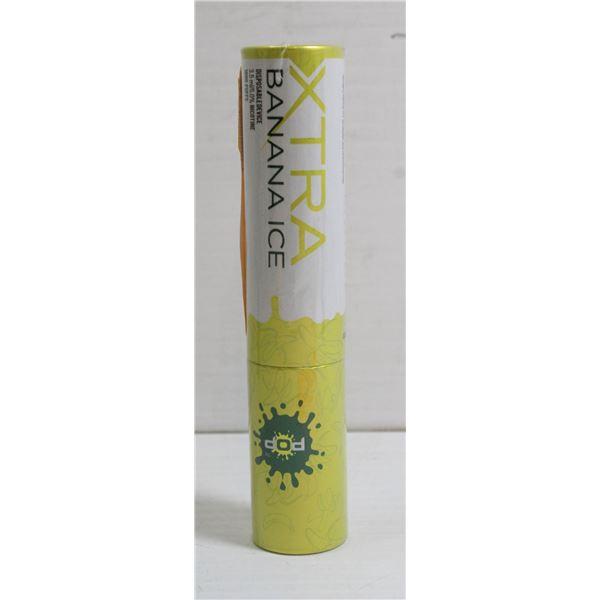 ONE POP XTRA 1000 PUFFS E-CIG 5% BANANA ICE