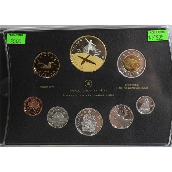 2009 PROOF SET CANADIAN CURRENCY