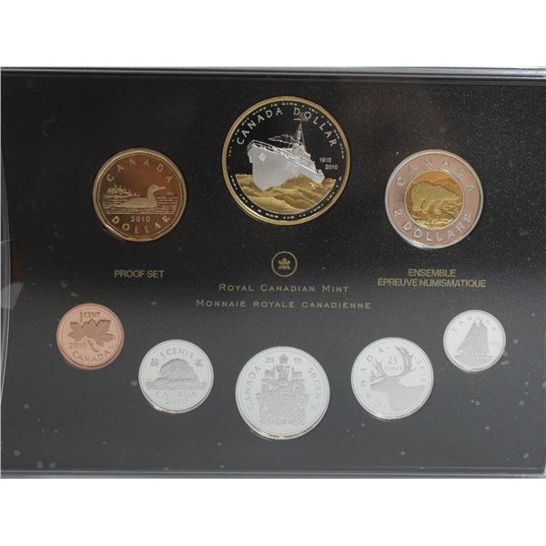 2010 PROOF SET CANADIAN CURRENCY