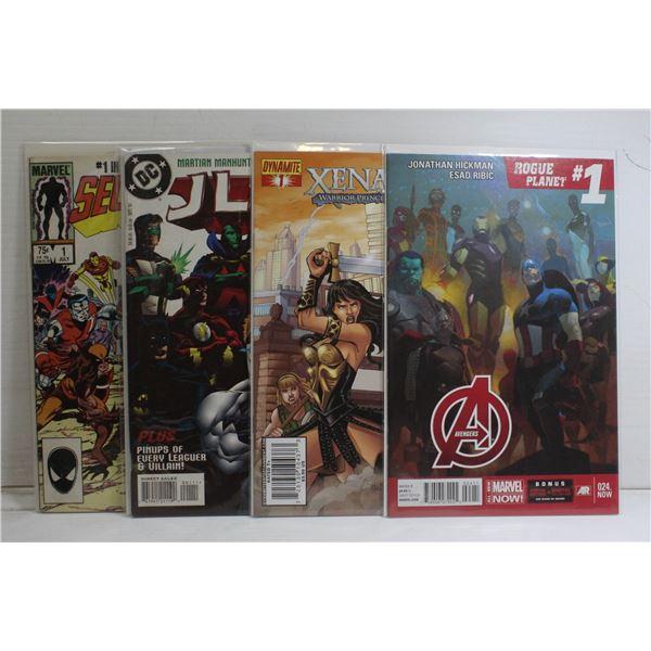 4 X ALL # 1 ISSUES KEY COMICS AVENGERS SUICIDE SQU