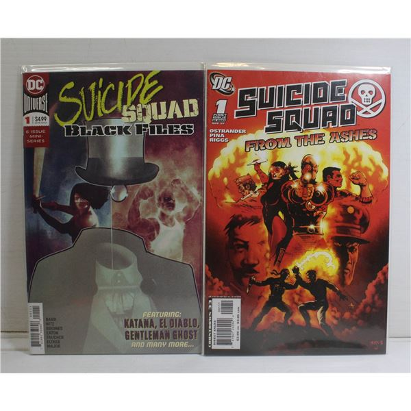 2 X SUICIDE SQUAD BOTH ISSUE # 1'S