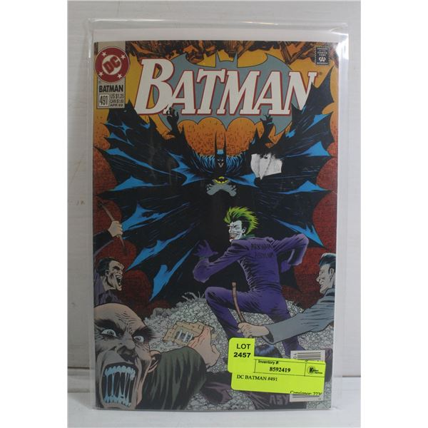 DC BATMAN #491