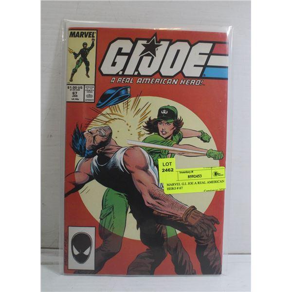 MARVEL G.I. JOE A REAL AMERICAN HERO # 67