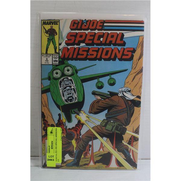 MARVEL G.I. JOE SPECIAL MISSIONS # 9